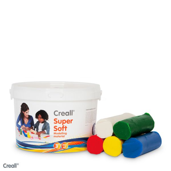 Creall Supersoft speelklei 1750gram